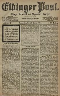 Elbinger Post, Nr. 13, Donnerstag 29 Januar 1874, 41 Jh