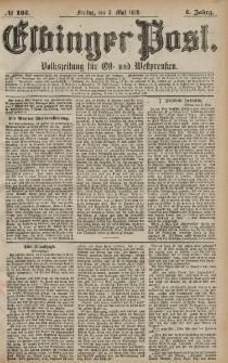 Elbinger Post, Nr. 103 Freitag 3 Mai 1878, 5 Jahrg.