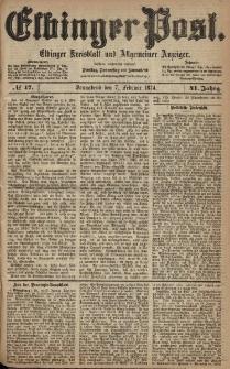Elbinger Post, Nr. 17, Sonnabend 7 Februar 1874, 41 Jh