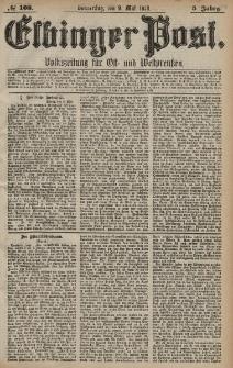 Elbinger Post, Nr. 108 Donnerstag 9 Mai 1878, 5 Jahrg.