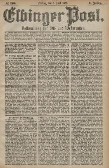 Elbinger Post, Nr. 126 Freitag 1 Juni 1878, 5 Jahrg.