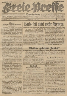 Freie Presse, Nr. 105 Dienstag 7. Mai 1929 5. Jahrgang