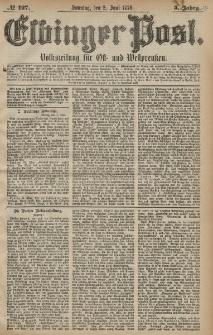 Elbinger Post, Nr. 127 Sonntag 2 Juni 1878, 5 Jahrg.
