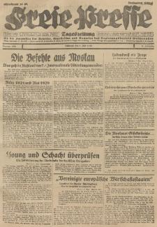 Freie Presse, Nr. 106 Mittwoch 8. Mai 1929 5. Jahrgang