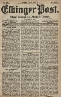 Elbinger Post, Nr. 56, Dienstag 12 Mai 1874, 41 Jh