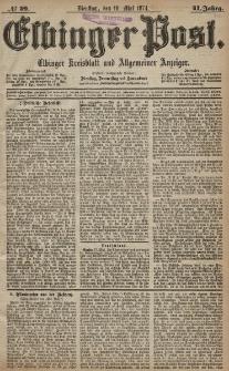 Elbinger Post, Nr. 59, Dienstag 19 Mai 1874, 41 Jh