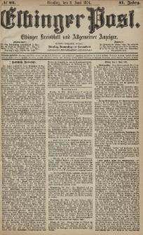 Elbinger Post, Nr. 64, Dienstag 2 Juni 1874, 41 Jh