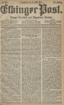 Elbinger Post, Nr. 69, Sonnabend 13 Juni 1874, 41 Jh