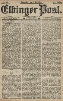 Elbinger Post, Nr. 82, Donnerstag 2 Juli 1874, 41 Jh