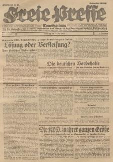 Freie Presse, Nr. 110 Dienstag 14. Mai 1929 5. Jahrgang