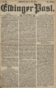 Elbinger Post, Nr. 84, Sonnabend 4 Juli 1874, 41 Jh