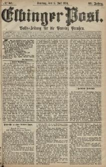 Elbinger Post, Nr. 85, Sonntag 5 Juli 1874, 41 Jh