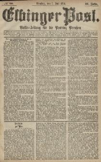 Elbinger Post, Nr. 86, Dienstag 7 Juli 1874, 41 Jh