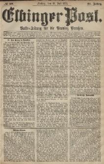 Elbinger Post, Nr. 89, Freitag 10 Juli 1874, 41 Jh