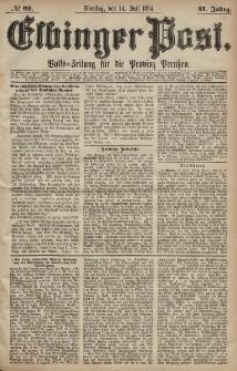 Elbinger Post, Nr. 92, Dienstag 14 Juli 1874, 41 Jh