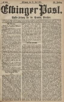 Elbinger Post, Nr. 93, Mittwoch 15 Juli 1874, 41 Jh