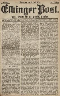 Elbinger Post, Nr. 94, Donnerstag 16 Juli 1874, 41 Jh