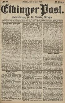 Elbinger Post, Nr. 97, Sonntag 19 Juli 1874, 41 Jh