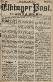 Elbinger Post, Nr. 103, Sonntag 26 Juli 1874, 41 Jh