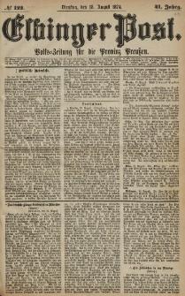 Elbinger Post, Nr. 122, Dienstag 18 August 1874, 41 Jh