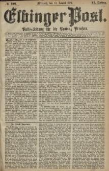 Elbinger Post, Nr. 123, Mittwoch 19 August 1874, 41 Jh