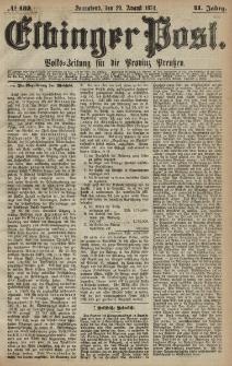 Elbinger Post, Nr. 132, Sonnabend 29 August 1874, 41 Jh