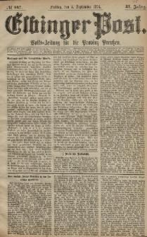 Elbinger Post, Nr. 137, Freitag 4 September 1874, 41 Jh