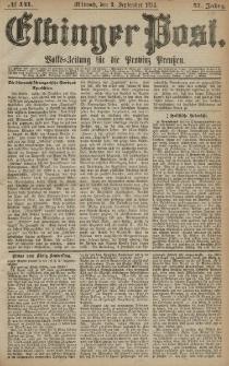 Elbinger Post, Nr. 141, Mittwoch 9 September 1874, 41 Jh