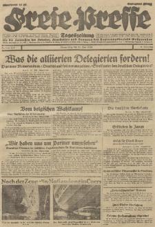Freie Presse, Nr. 117 Donnerstag 23. Mai 1929 5. Jahrgang