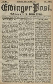 Elbinger Post, Nr. 162, Sonnabend 3 Oktober 1874, 41 Jh