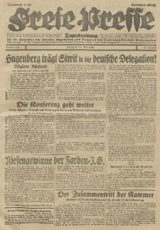 Freie Presse, Nr. 118 Freitag 24. Mai 1929 5. Jahrgang
