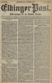 Elbinger Post, Nr. 166, Donnerstag 8 Oktober 1874, 41 Jh