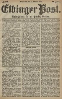 Elbinger Post, Nr. 168, Sonnabend 10 Oktober 1874, 41 Jh