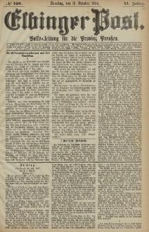 Elbinger Post, Nr. 169, Sonntag 11 Oktober 1874, 41 Jh