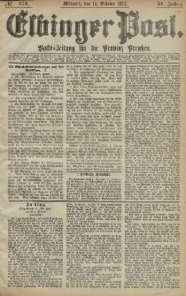 Elbinger Post, Nr. 171, Mittwoch 14 Oktober 1874, 41 Jh