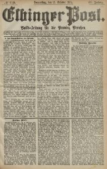 Elbinger Post, Nr. 172, Donnerstag 15 Oktober 1874, 41 Jh