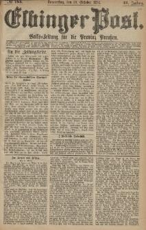 Elbinger Post, Nr. 184, Donnerstag 29 Oktober 1874, 41 Jh