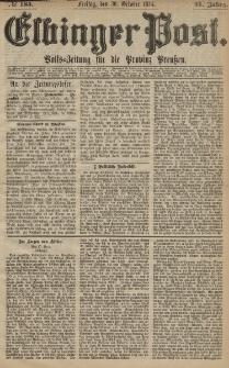 Elbinger Post, Nr. 185, Freitag 30 Oktober 1874, 41 Jh