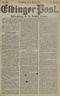 Elbinger Post, Nr. 186, Sonnabend 31 Oktober 1874, 41 Jh