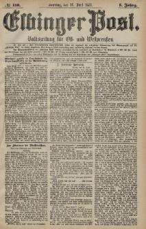 Elbinger Post, Nr. 138 Sonntag 16 Juni 1878, 5 Jahrg.