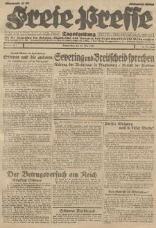 Freie Presse, Nr. 123 Donnerstag 30. Mai 1929 5. Jahrgang