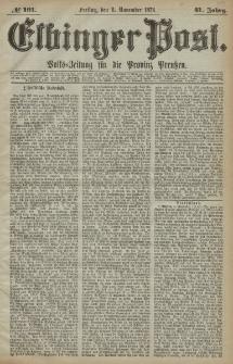 Elbinger Post, Nr. 191, Freitag 6 November 1874, 41 Jh