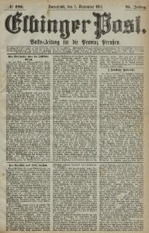 Elbinger Post, Nr. 192, Sonnabend 7 November 1874, 41 Jh