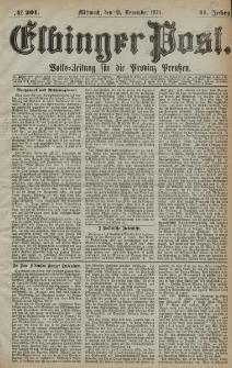 Elbinger Post, Nr. 201, Mittwoch 18 November 1874, 41 Jh