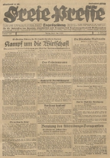Freie Presse, Nr. 130 Freitag 7. Juni 1929 5. Jahrgang