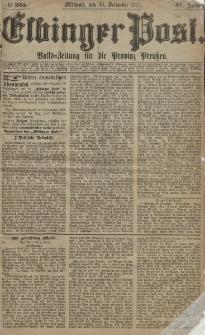 Elbinger Post, Nr. 235, Mittwoch 30 Dezember 1874, 41 Jh
