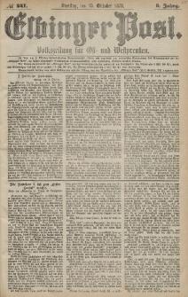 Elbinger Post, Nr. 241 Dienstag 15 Oktober 1878, 5 Jahrg.