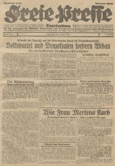Freie Presse, Nr. 137 Sonnabend 15. Juni 1929 5. Jahrgang