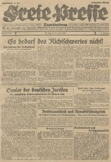 Freie Presse, Nr. 139 Dienstag 18. Juni 1929 5. Jahrgang