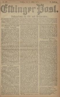 Elbinger Post, Nr. 59 Dienstag 11 März 1879, 6 Jahrg.